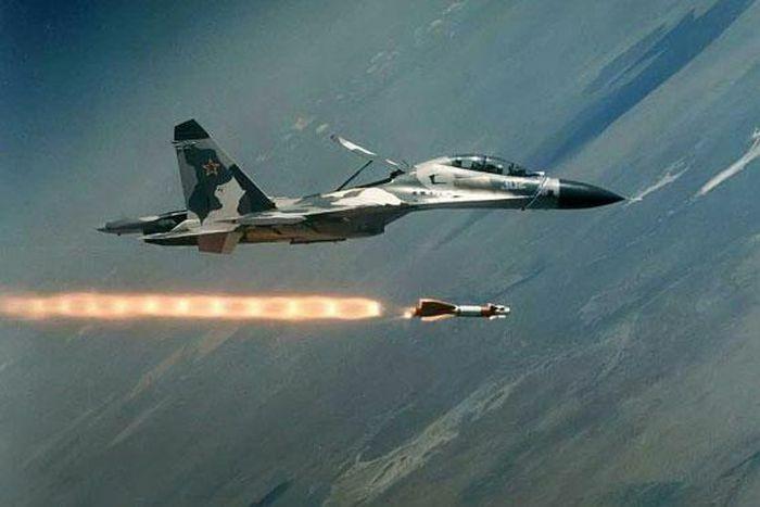 Máy bay Su-34 của Nga tung đòn tấn công dữ dội vào các vị trí của Thổ Nhĩ Kỳ ở Idlib