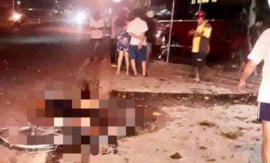 Xe khách va chạm với nhóm người đạp xe thể dục, 3 người chết, 2 bị thương