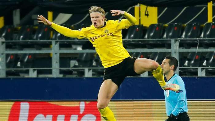 Haaland vượt mặt Solskjaer, lập kỷ lục khủng Champions League
