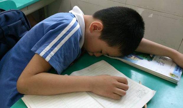 Thấy trò lên lớp ngủ gật, cô giáo vội chụp hình gửi vào group phụ huynh để phê bình, nghe câu đáp trả của người bố mà ai cũng cứng họng