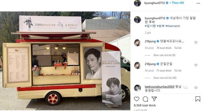 """Ông xã Lee Byung Hun bị đàn em """"thả thính"""" công khai, Lee Min Jung vào tận trang cá nhân """"dằn mặt"""""""