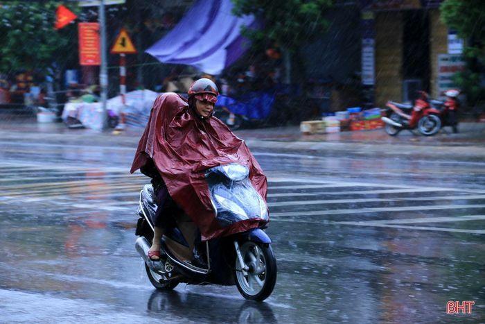 Không khí lạnh gây mưa, giảm nhiệt độ tại Hà Tĩnh từ ngày mai