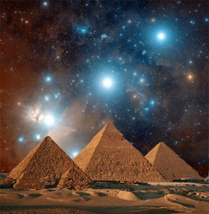 Những điều kỳ diệu bên trong kim tự tháp Ai Cập
