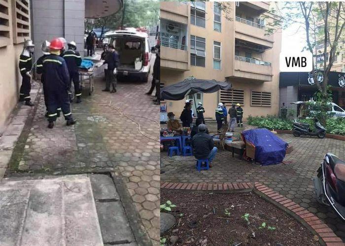 Rơi từ tầng 9 chung cư ở Hà Nội, nữ sinh lớp 10 tử vong