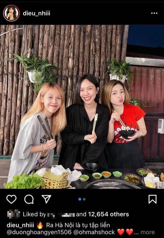 """Dương Hoàng Yến tái ngộ Diệu Nhi, Hậu Hoàng sau story: """"Hà Nội đau lòng quá"""""""