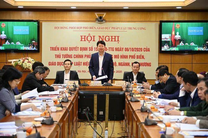 Đổi mới hoạt động của Hội đồng phối hợp phổ biến giáo dục pháp luật các cấp
