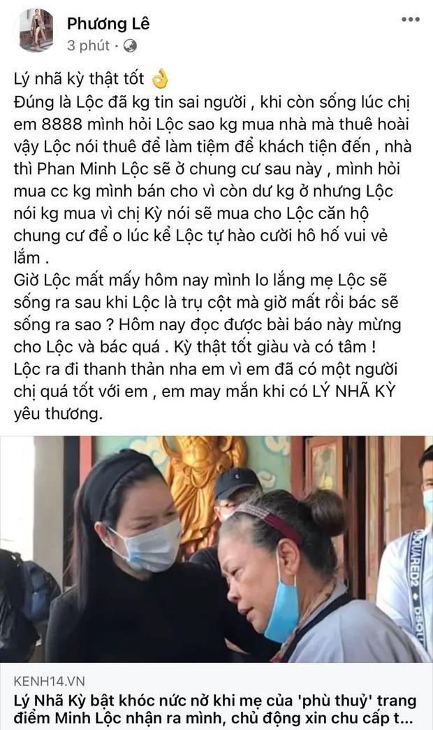 """Xót xa cuộc sống """"phù thuỷ"""" make up Minh Lộc trước khi qua đời: Ở nhà thuê với mẹ, không mua nhà vì lời hứa của Lý Nhã Kỳ"""