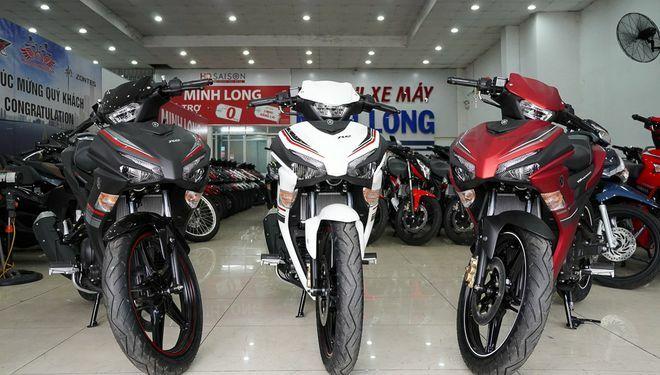 Sức mua xe máy sụt giảm, giá bán Yamaha Exciter 155 VVA tiếp tục leo thang