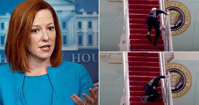 Ông Biden vấp ngã: Nhà Trắng hết đổ lỗi cho gió, giờ lại nói vì cầu thang
