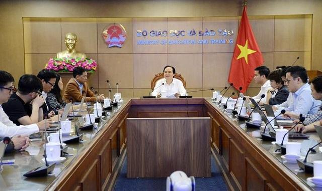 Bộ trưởng Phùng Xuân Nhạ ý kiến về đề xuất xây dựng nền tảng giáo dục số