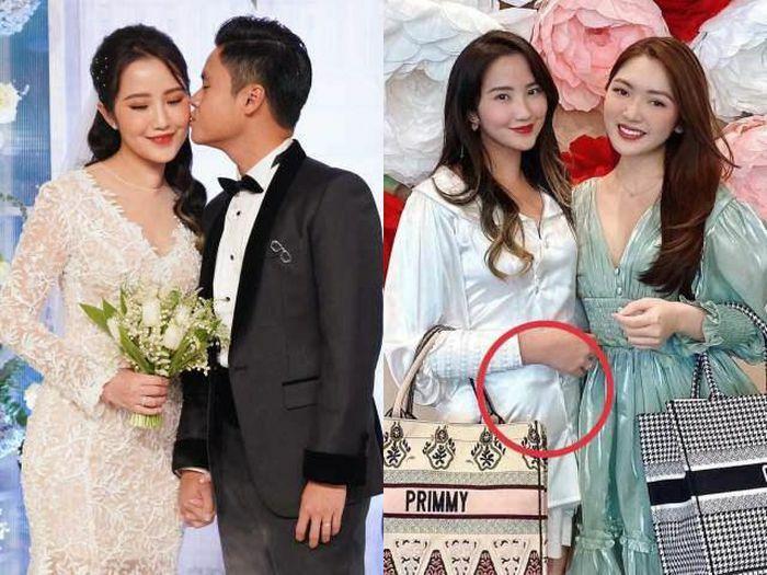 """1 tháng sau đám cưới triệu đô, vợ đẹp của Phan Thành tăng 3kg, lộ vòng 2 """"lùm lùm"""""""