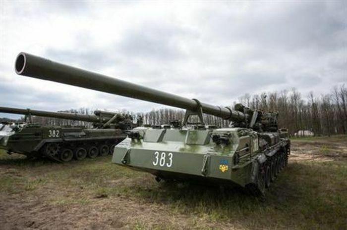 Ukraine tung pháo tự hành mạnh nhất tới khu vực giới tuyến Donbass