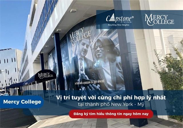 Mercy College – vị trí tuyệt vời cùng chi phí hợp lý nhất tại thành phố New York