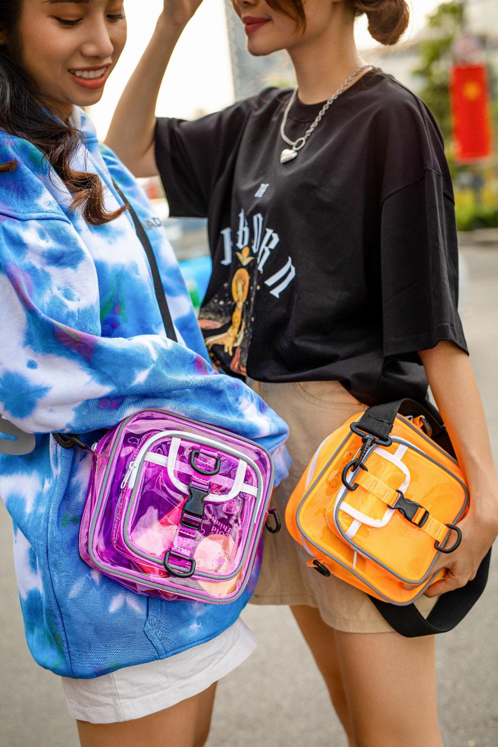 Chill Bag: Item chất lừ chinh phục đa dạng phong cách thời trang