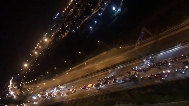 """Khoảng 70 """"quái xế"""" chặn đường, đua xe trên cao tốc TP.HCM – Long Thành – Dầu Giây khiến người dân khiếp sợ"""