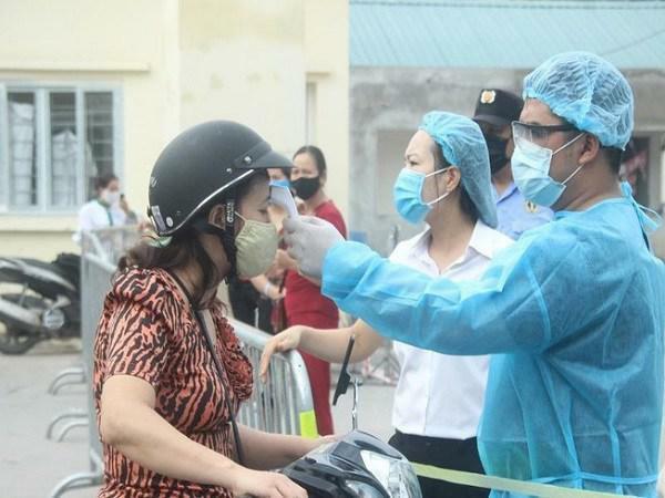 Cô gái trẻ ở Hải Dương cùng 6 trường hợp khác mắc COVID-19 vừa được Bộ Y tế công bố