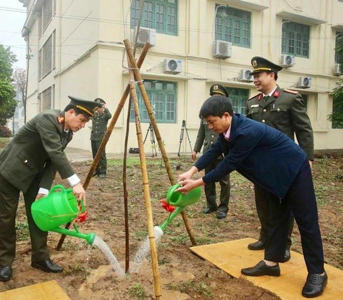 Trường Cao đẳng ANND I đặt mục tiêu trồng mới 16 nghìn cây xanh