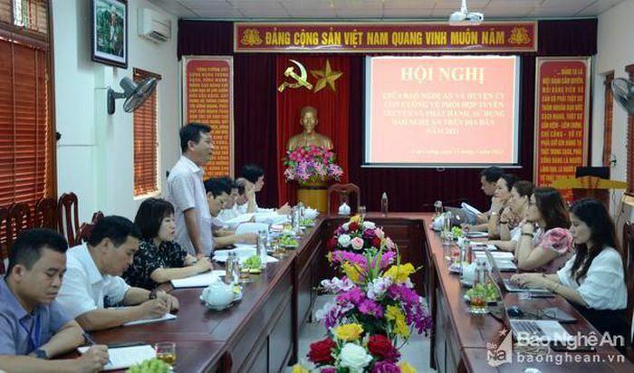 Đẩy mạnh tuyên truyền, góp phần xây dựng Con Cuông trở thành đô thị sinh thái du lịch