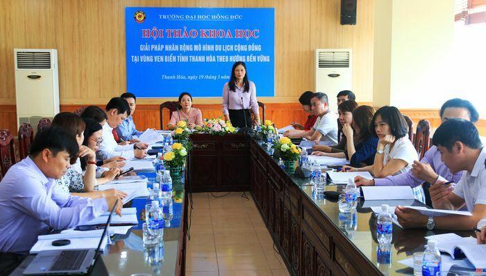 Giải pháp nhân rộng mô hình du lịch cộng đồng ở vùng ven biển tỉnh Thanh Hóa hướng tới bền vững