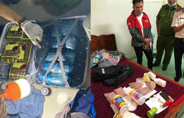 Bắt 4 người, thu giữ 18 kg ma túy ở TP.HCM