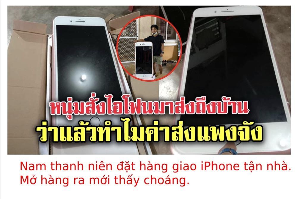 """Thanh niên nhận chiếc iPhone """"siêu to khổng lồ"""" khi mua hàng online"""
