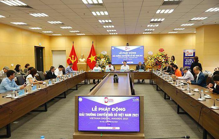 Phát động bình chọn, trao giải thưởng Vietnam Digital Awards 2021