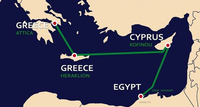 Thỏa thuận năng lượng mới giữa Síp, Hy Lạp và Israel