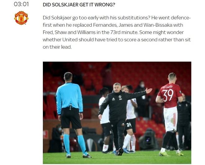 MU đánh rơi chiến thắng phút bù giờ: Báo Anh chỉ trích Solskjaer và tội đồ nào?