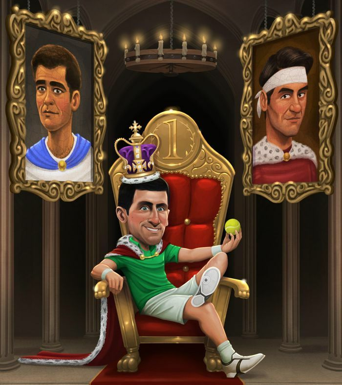 Djokovic xô đổ kỷ lục của Federer