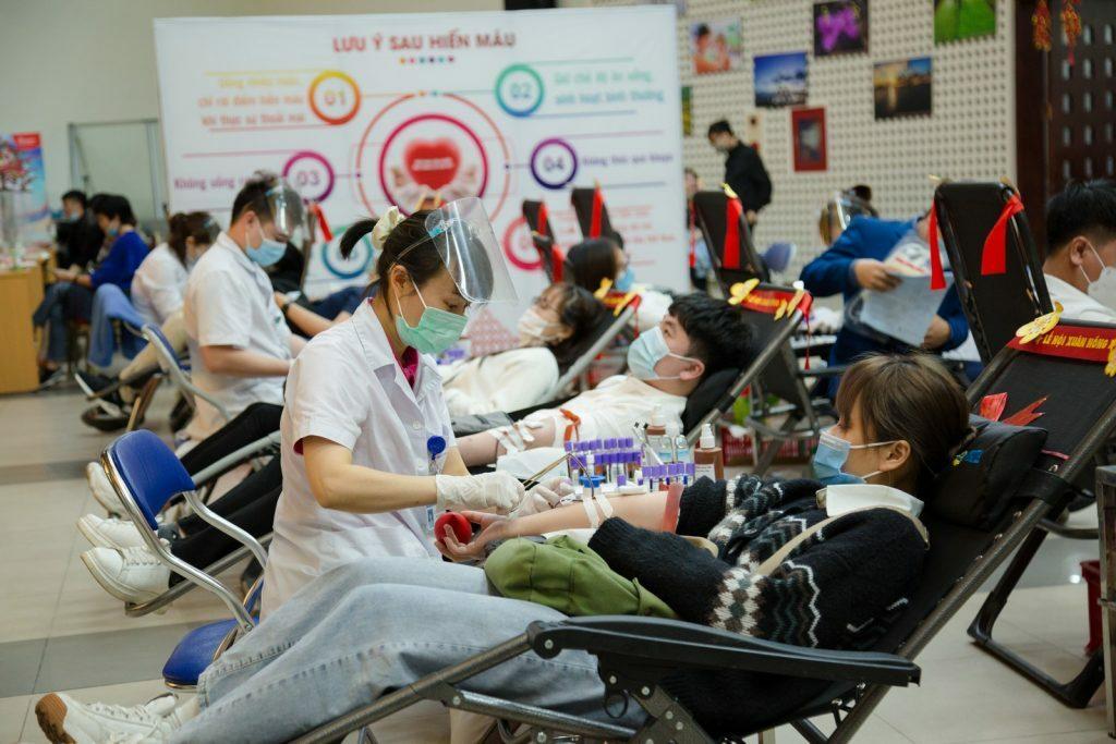 Lượng máu tiếp nhận tại Lễ hội Xuân hồng vượt 160% kế hoạch