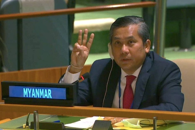 Cuộc tranh giành ghế đại sứ Myanmar tại Liên Hợp Quốc