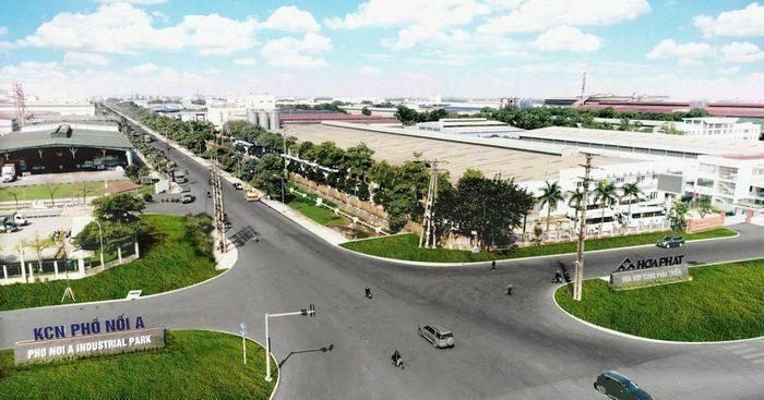 Đầu tư xây dựng và kinh doanh hạ tầng kỹ thuật KCN Phố Nối A