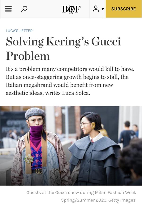 Châu Bùi xuất hiện trên trang The Business of Fashion