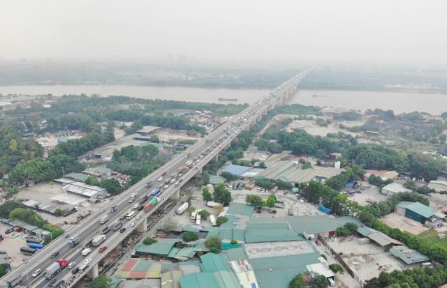 Hà Nội hạ tốc độ tối đa ô tô lưu thông trên cầu Thanh Trì