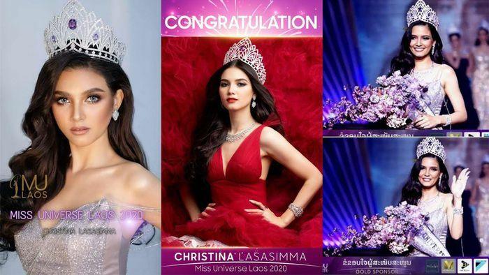 Hoa hậu Lào đẹp nhất lịch sử bất ngờ quay lại đường đua Hoa hậu Hoàn vũ