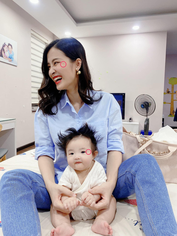 """Netizen phát hiện Winnie có nốt ruồi thương hiệu y hệt mẹ, Đông Nhi phải lên tiếng nói rõ và thừa nhận là """"mẹ hư""""?"""