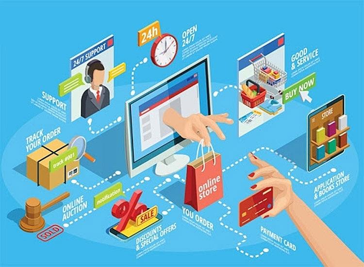 Thương mại điện tử – xung lực mới cho tăng trưởng kinh tế