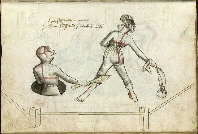 Cách giải quyết mâu thuẫn gia đình thời Trung Cổ: Vợ chồng quyết đấu tay đôi, ai thắng là đúng!