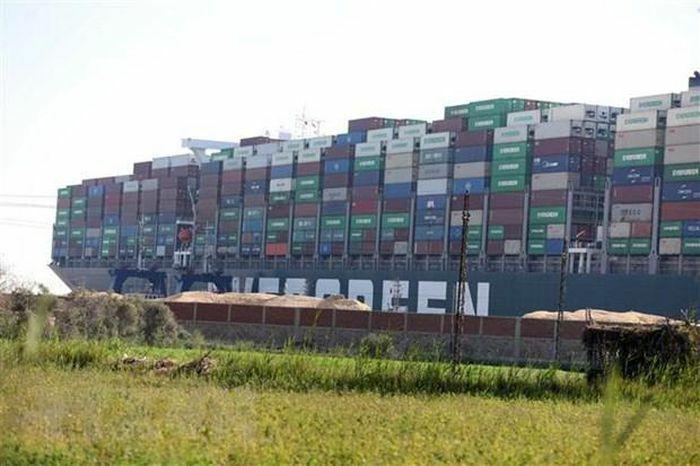 Siêu tàu mắc kẹt ở kênh đào Suez đã được giải cứu thành công