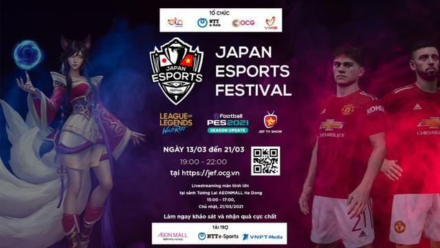 Sự kiện E-Sports Nhật Bản lần đầu được tổ chức online cho khán giả Việt Nam – Nhật Bản
