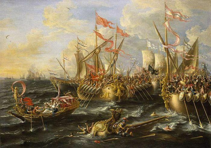 Hải chiến Actium và cái chết của nữ hoàng Cleopatra