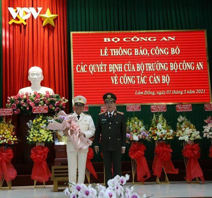Điều động, bổ nhiệm lãnh đạo Công an tỉnh Hà Nam, Đắk Lắk, Lâm Đồng