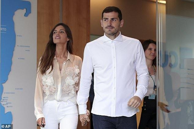Iker Casillas ly dị vợ bị ung thư sau 12 năm mặn nồng