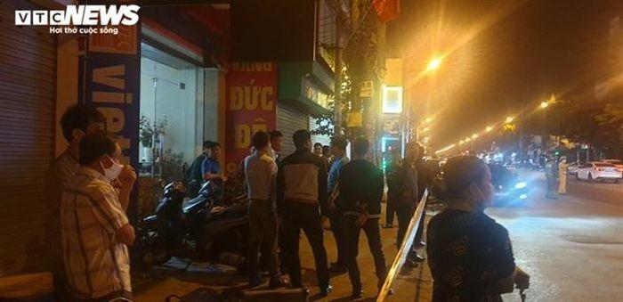 Xác định nghi phạm gây ra vụ nổ tiệm vàng ở Hải Phòng