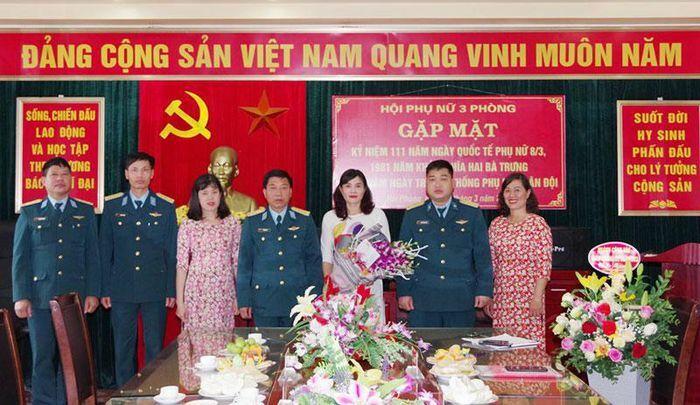Sư đoàn 363 kỷ niệm Ngày Quốc tế Phụ nữ 8-3