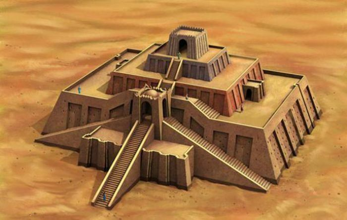 Ẩn số về kim tự tháp của đế chế Sumer cổ đại