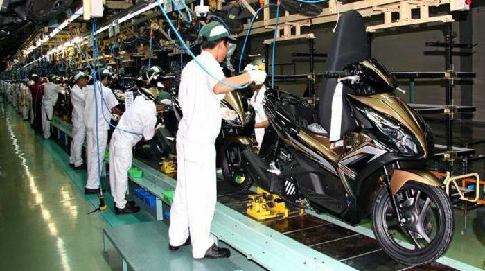 Xe máy Honda chiếm tương đương khoảng 80% thị phần tại Việt Nam