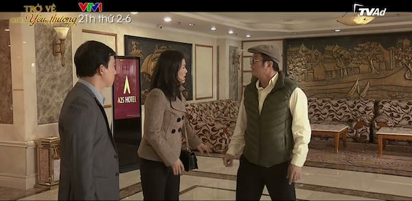 Trở Về Giữa Yêu Thương phần 2 tập 6: Đức nổi đoá khi bắt gặp Thu và Vũ vào khách sạn