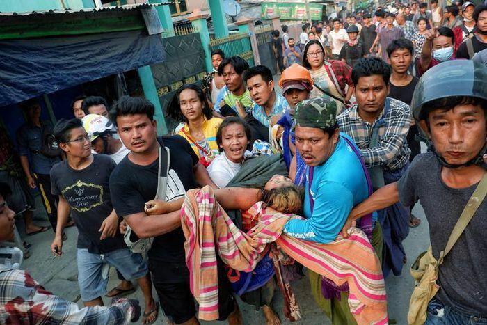 Myanmar: Một bệnh viện tiếp nhận 34 thi thể, 40 người bị thương?