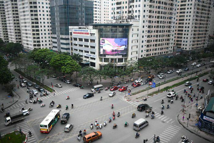 Cảnh đìu hiu trong các trung tâm thương mại ở Hà Nội